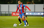 Adlene Guedioura on the ball during the Pre-Season Friendly match between Tooting & Mitcham and Crystal Palace at Imperial Fields, Tooting, United Kingdom on 24 July 2015. Photo by Michael Hulf.