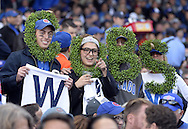 CHICAGO, IL - OCTOBER 12:  Fans look on during Game 3 of the NLDS between the Chicago Cubs and the St. Louis Cardinals at Wrigley Field on Monday, October 12, 2015 in Chicago , Illinois. (Photo by Ron Vesely/MLB Photos via Getty Images)