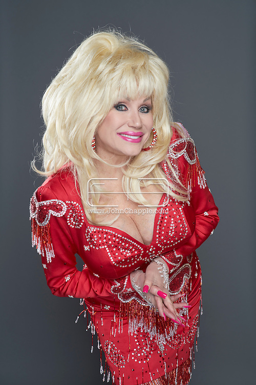 February 22, 2016. Las Vegas, Nevada.  The 22nd Reel Awards and Tribute Artist Convention in Las Vegas. Celebrity lookalikes from all over the world gathered at the Golden Nugget Hotel for the annual event. Pictured is Dolly Parton Lookalike, Sandy Vee Anderson.<br /> Copyright John Chapple / www.JohnChapple.com /
