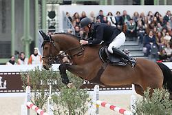 Bost Roger Yves, (FRA), Qoud Coeur de la Loge<br /> Grand Prix Hermes <br /> Saut Hermes Paris 2016<br /> © Hippo Foto - Counet Julien