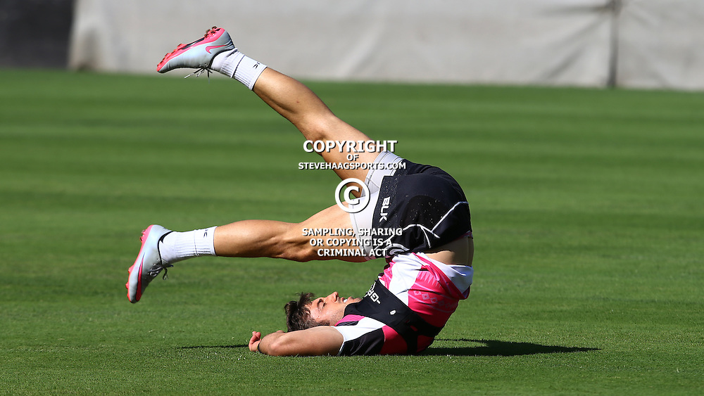DURBAN, SOUTH AFRICA, 22,MARCH, 2016 - Paul Jordaan during The Cell C Sharks training session  at Growthpoint Kings Park in Durban, South Africa. (Photo by Steve Haag)<br /> <br /> images for social media must have consent from Steve Haag