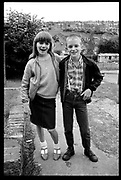 Neville and Girl, Summer, High Wycombe.1980s.