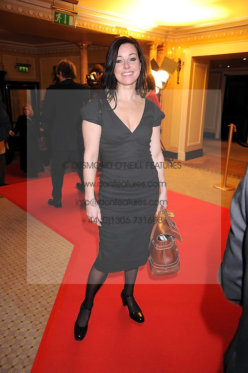 RUTHIE HENSHALL at the 2009 South Bank Show Awards held at The Dorchester, Park Lane, London on 20th January 2009.