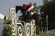 Phillip Dutton. The Land Rover Burghley Horse Trials. 4 September. ONE TIME USE ONLY - DO NOT ARCHIVE  © Copyright Photograph by Dafydd Jones 66 Stockwell Park Rd. London SW9 0DA Tel 020 7733 0108 www.dafjones.com