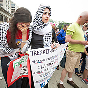 Pro-Palestinian Protest in Boston - 7/19/14