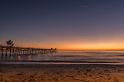 San Clemente Pier at Twilight