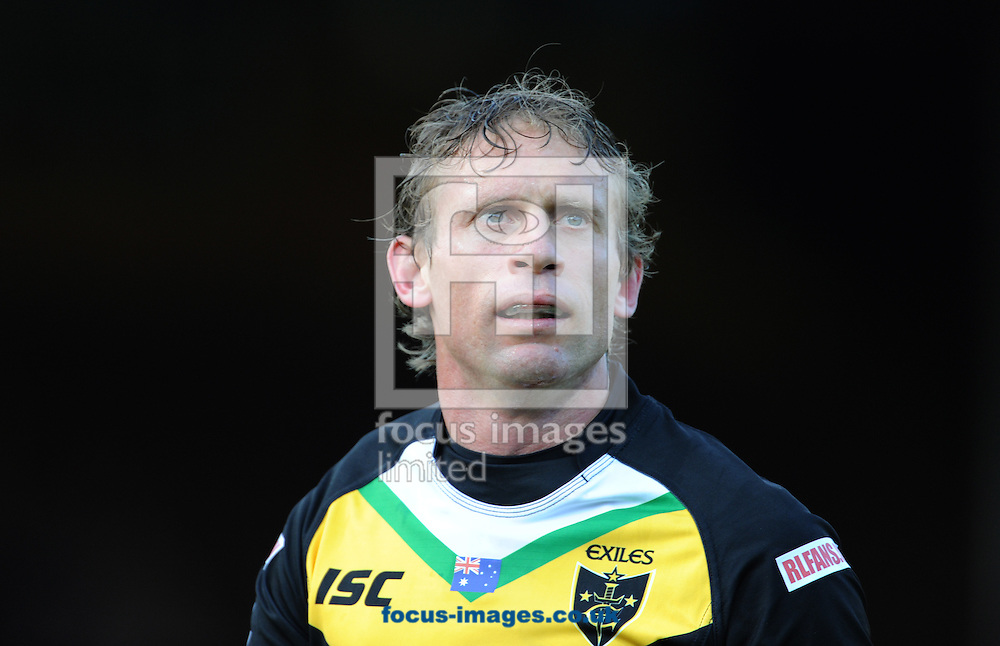 Picture by Andrew Stunell/Focus Images Ltd. 07843 416262 .10/6/11.Brett Hodgeson of Exiles during the International Origin match at Headingley Stadium, Leeds.