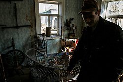 Mar 27, 2016 - Chernobyl, Ukraine - The farmstead of one of those who returned after been evicted from the site in 1986 after the nuclear disaster. Ukraine marks the 30th anniversary of the Chernobyl Nuclear Disaster on April 26, 1986. (Credit Image: © Sergii Kharchenko via ZUMA Wire)
