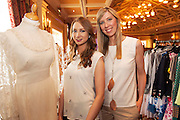 Kim and MichelleBurke from Vintage Pearl Bridal Galway  at A Vintage and Pre-Loved Fashion Extravaganza held in the Lady Gregory Hotel in Gort . A fundraising event organised by the Parents Council for Seamount's new pitch.  Photo:Andrew Downes