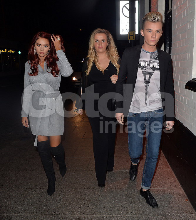TOWIE stars Amy Childs and Harry Derbidge attend the Coco and Cater clothing launch party at Sugahut, Brentwood, Essex, UK. 23/10/2014<br />BYLINE MUST READ : GOTCHAIMAGES.COM<br /><br />Copyright by &copy; Gotcha Images Ltd. All rights reserved.<br />Usage of this image is conditional upon the acceptance <br />of Gotcha Images Ltd, terms and conditions available at<br />www.gotchaimages.com