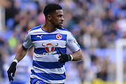 Reading's Garath McCleary during the Sky Bet Championship match between Reading and Bolton Wanderers at the Madejski Stadium, Reading, England on 21 November 2015. Photo by Mark Davies.