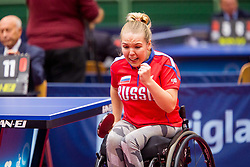 VASILEVA Aleksandra during day 3 of 15th EPINT tournament - European Table Tennis Championships for the Disabled 2017, at Arena Tri Lilije, Lasko, Slovenia, on September 30, 2017. Photo by Ziga Zupan / Sportida