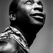Youssou N'dour, african musician. feb 2000