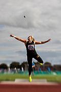 HELSINGBORG, SVERIGE 2017-08-25: Fanny Roos fr&aring;n Athletics 24Seven SK under SM i friidrott p&aring; Hedens IP, Helsingborg den 25 augusti 2017. Foto: Lars Dareberg/Ombrello<br /> ***BETALBILD***