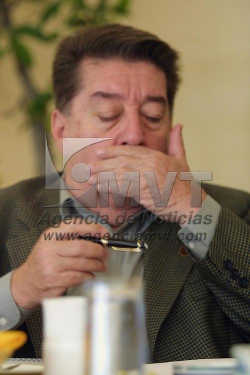 Ixtapan de la Sal, M&eacute;x.- Jose Felix Fernandez Estigarribia, Embajador de Paraguay en Mexico durante la reunion que sostuvieron embajadores de america Latina y del Caribe con empresarios y funcionarios del gobierno Estatal con el fin de promover el intercambio de inversiones. Agencia MVT / Mario V&aacute;zquez de la Torre. (DIGITAL)<br /> <br /> NO ARCHIVAR - NO ARCHIVE