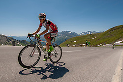 Markus Gotz (AUT) of WSA-Greenlife during the 166.8 km long 6th stage from Lienz to Kitzbuheler Horn at 67th Tour of Austria, on July 8, 2015, Austria. Photo by Urban Urbanc / Sportida