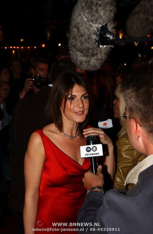 Opening Utrechts Filmfestival 2003, premiere Phileine zegt sorry, Kim van Kooten