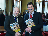 free pic no repro fee     GMC20012017 <br /> David Joyce and Liam Casey from Cork City Council   Pictured at the Port of Cork, for the launch of Meitheal Mara's ambitious plans for the realisation  of an integrated maritime hub for Cork City. www.meithealmara.ie<br /> Images By Gerard McCarthy 087 8537228 <br /> For more info contact  Joya Kuin  0857770969  joyakuin@gmail.com