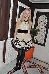 KATIA ELIZAROVA at the Inspiring Morocco launch held at Harrods, Knightsbridge, London on 3rd November 2011.