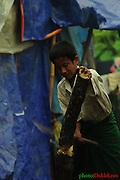 Jawng yu ai hte nta bungli galaw taw ai jawngma langai, Hpunlumyang IDP camp laiza.