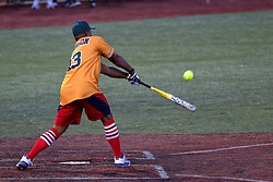 04 August 2018: Kerry Robinson. Legends Game for the Miracle League at Corn Crib Stadium on the campus of Heartland Community College in Normal Illinois<br /> <br /> Game featured retired MLB players from the ST. Louis Cardinals and the Chicago Cubs...  Derek Lee, Bobbie Dernier, Kyle Farnsworth, Les Lancaster, Ray Lankford, Kerry Robinson, Jim Edmonds, and Aramis Ramirez