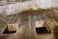 """Roma 1 Aprile 2015<br /> Presentato il progetto per il risanamento della Domus Aurea, realizzato dalla Soprintendenza speciale per i beni archeologici di Roma, che consiste nella sistemazione del  giardino pensile,una parcella di 800 mq ,realizzato con tecnologie sostenibili che farà da «scudo» alla  Domus Aurea impedendo le infiltrazioni d'acqua. L'interno della Domus Aurea danneggiato dalle infiltrazioni d'acqua.<br /> Rome, April 1, 2015<br /> Presented the project for the rehabilitation of the Domus Aurea, fulfilled  by the Superintendence for Cultural Heritage of Rome, which is the arrangement of the roof garden, a plot of 800 square meters, made with sustainable technologies that will be the """"shield"""" at the Domus Aurea for  preventing water infiltration. The interior of the Domus Aurea damaged by water infiltration."""