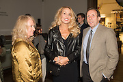 LINLEY TROTT; JERRY HALL; DAVID DAWSON, Ai Weiwei, Royal Academy, Piccadilly. London.  15 September 2015.