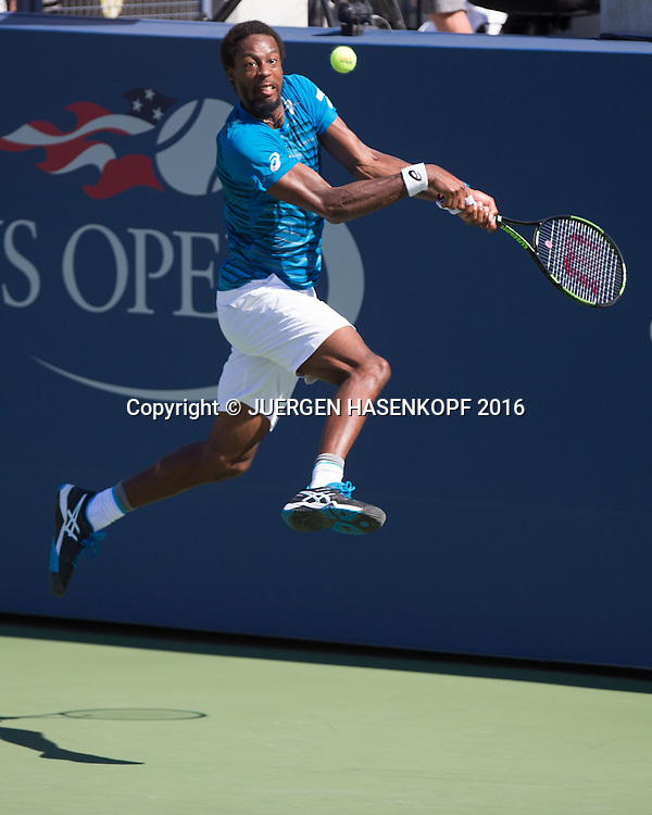 GAEL MONFILS (FRA)<br /> <br /> Tennis - US Open 2016 - Grand Slam ITF / ATP / WTA -  Flushing Meadows - New York - New York - USA  - 29 August 2016.