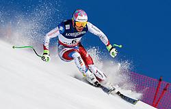 13.02.2017, St. Moritz, SUI, FIS Weltmeisterschaften Ski Alpin, St. Moritz 2017, alpine Kombination, Herren, Abfahrt, im Bild Luca Aerni (SUI, Herren Alpine Kombination Weltmeister und Goldmedaille) // men's Alpine Combined world Champion and Gold medalistLuca Aerni of Switzerland in action during his run of downhill for the men's Alpine combination of the FIS Ski World Championships 2017. St. Moritz, Switzerland on 2017/02/13. EXPA Pictures © 2017, PhotoCredit: EXPA/ Jonas Ericson