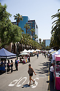 Shopping at the Anaheim Farmer's Market