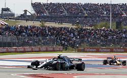 October 22, 2018 - Austin, United States - Motorsports: FIA Formula One World Championship; 2018; Grand Prix; United States, FORMULA 1 PIRELLI 2018 UNITED S GRAND PRIX , Circuit of The Americas#77 Valtteri Bottas (FIN, Mercedes AMG Petronas) (Credit Image: © Hoch Zwei via ZUMA Wire)