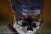 Plastic Surgeon Petra Peterson on day five the first day of surgery. Tamatave Hospital. Operations Smile's 2014 mission to Tamatave Madagascar. 10th - 20th September 2014<br /> <br /> (Operation Smile Photo - Zute Lightfoot)