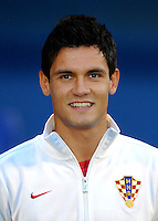 Football Fifa Brazil 2014 World Cup Matchs-Qualifier / Europe - Group A /<br /> Croatia vs Belgium 1-2  ( Maksimir Stadium - Zagreb , Croatia )<br /> Dejan LOVREN of Croatia , during the match between Croatia and Belgium