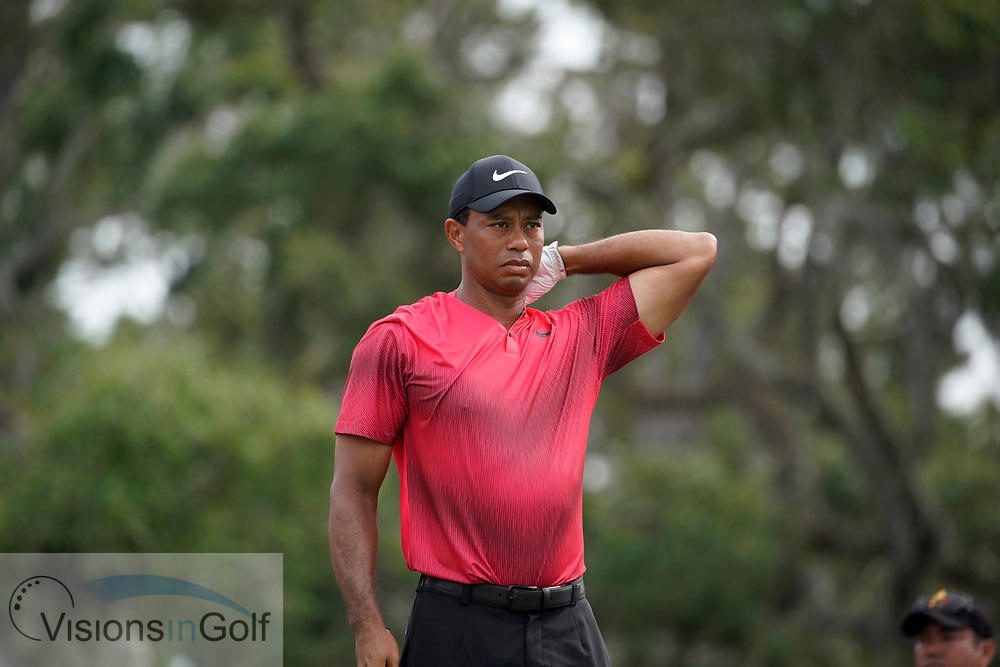 Tiger Woods<br /> On the final day<br /> THE PLAYERS Championship 2018