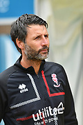 Lincoln City manager Danny Cowley during the EFL Sky Bet League 1 match between Wycombe Wanderers and Lincoln City at Adams Park, High Wycombe, England on 7 September 2019.