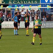 SV Huizen - ASWH, score Martijn Gootjes