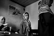 MSF is present in Indian-administered Kashmir. MSF provides basic health care and psychosocial counselling to a population traumatized by over 20 years of violence in the Kashmir Valley. Step by step, MSF has succeeded in creating more awareness about psychosocial problems among the population. In 2008, MSF's mental health program treated 6,324 patients. MSF supports 6 clinics in Kupwara district with basic health care and vaccination services and conducted over 10,000 consultations in 2008..People geting a Basic-health cure in MSF clinic in Tyan, Kupwara district