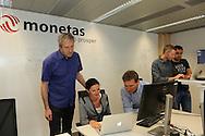 Inside Monetas office, Zug, Switzerland / Dans les bureaux de Monetas, Zoug, Suisse