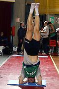 BORMIO LUGLIO 2004<br /> RITIRO PREOLIMPICO NAZIONALE ITALIANA BASKET NELLA FOTO MICHELE MIAN<br /> FOTO CIAMILLO-CASTORIA
