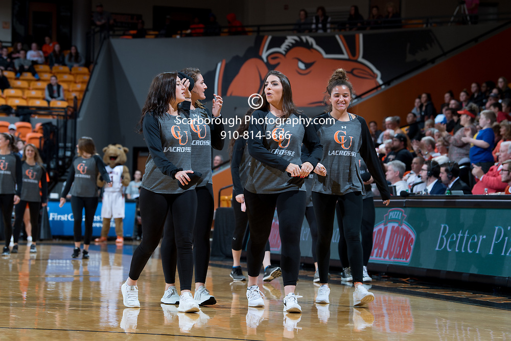 BUIES CREEK, NC - Februrary 1st, 2018 - Campbell Camels and UNC Asheville at Gilbert Craig Gore Arena in Buies Creek, NC. Photo By Bennett Scarborough