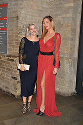 Left to right, PIPS TAYLOR and actress LAURA PRADELSKA at the SeriousFun Children's Network London Gala held at The Roundhouse, Chalk Farm Road, London on 3rd November 2016.