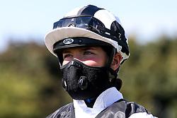 Jockey Mollie Phillips - Mandatory by-line: Robbie Stephenson/JMP - 22/07/2020 - HORSE RACING - Bath Racecoure - Bath, England - Bath Races