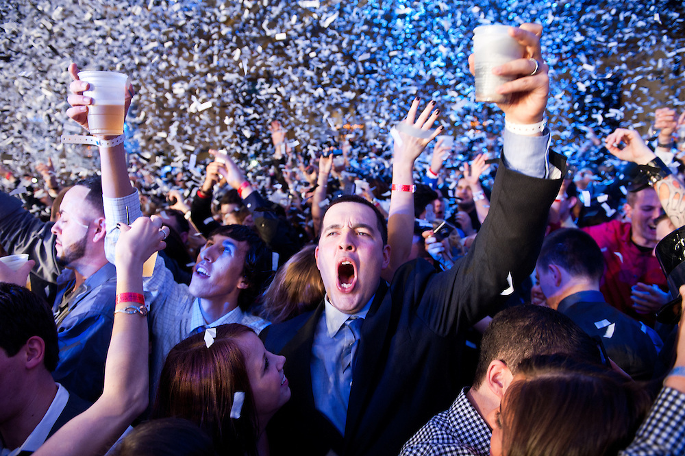 New Year's Eve 2013 Celebration at the Hilton with Mike Posner and Bad Boy Bill