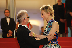 Thierry Fremaux, Jury President Cate Blanchett attends the screening of 'Cold War (Zimna Wojna)' during the 71st annual Cannes Film Festival at Palais des Festivals on May 10, 2018 in Cannes, France. Photo by David Boyer/ABACAPRESS.COM
