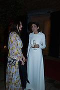 BERENGERE LUX; SAVA BISAZZA TERRAANI,  Venetian Heritage Gala Dinner Dance.  Hotel  Cipriani, Venice. 9 May 2015