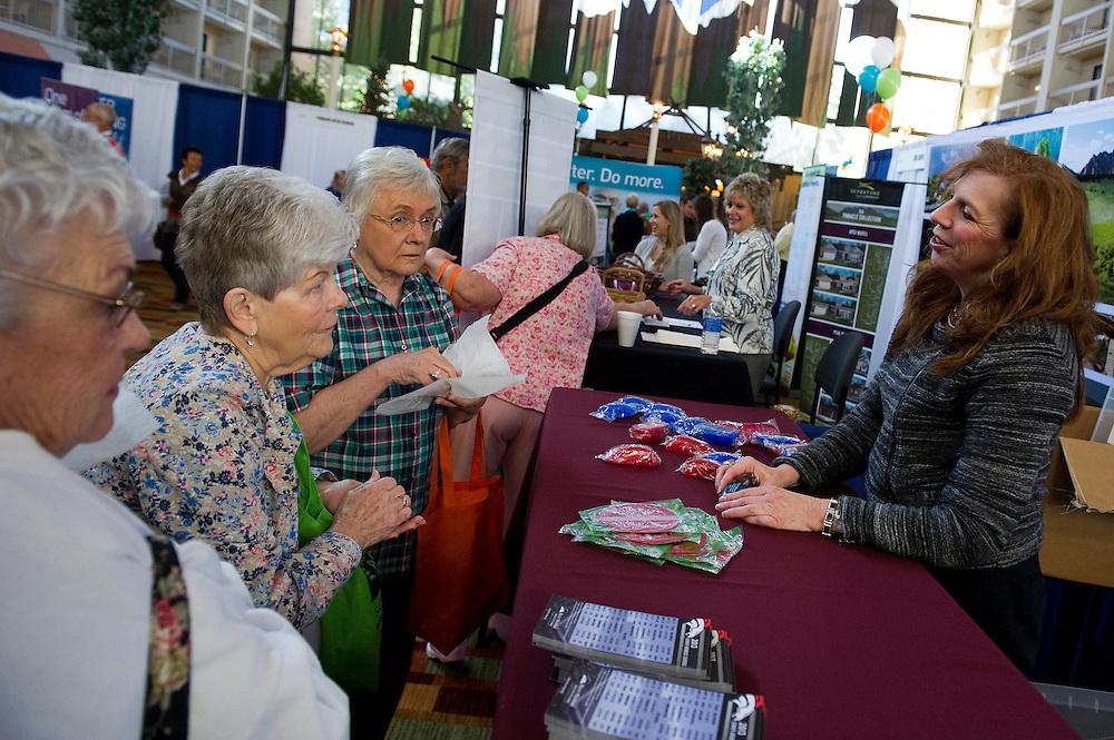 DENVER, CO - SEPTEMBER 28: Amazing Aging Expo at the Denver Marriott Tech Center on September 28, 2013 in Denver, Colorado. (Photo by Daniel Petty)