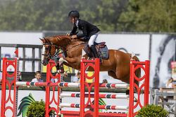Wouters Seppe, BEL, Mojito van't Oordeel<br /> Belgisch Kampioenschap Jeugd Azelhof - Lier 2020<br /> <br /> © Hippo Foto - Dirk Caremans<br /> 30/07/2020