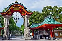 berlin zoo entrance gate germany
