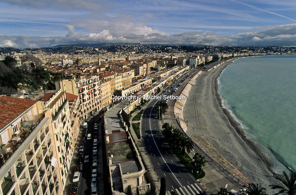 France. Nice. - la baie des anges -       / la baie des anges  Nice  france   / R00115/    L1738  /  P102877