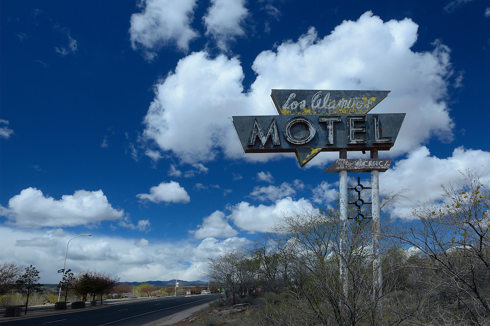 Abandoned Motel, Grants, New Mexico,USA